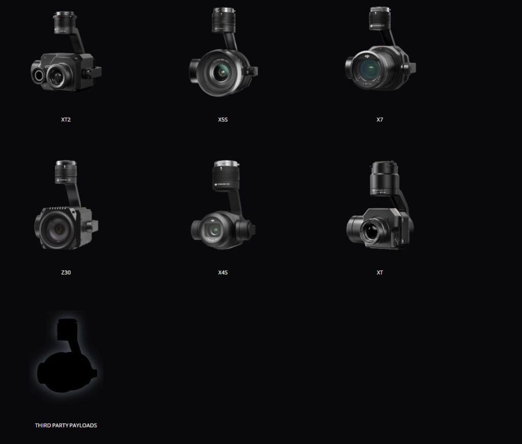 matrice 210 v2 rtk cameras